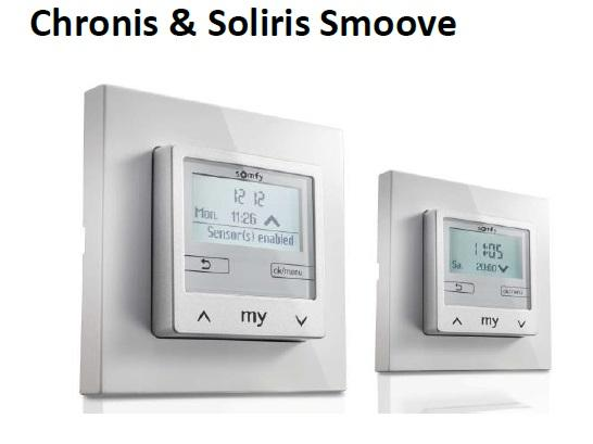 Chronis & Soliris Smoove Somfy